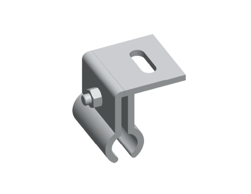 Kalzip® clamp for standing seam roof
