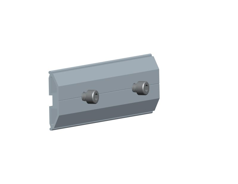 Rail splice for standing seam roof mounting system