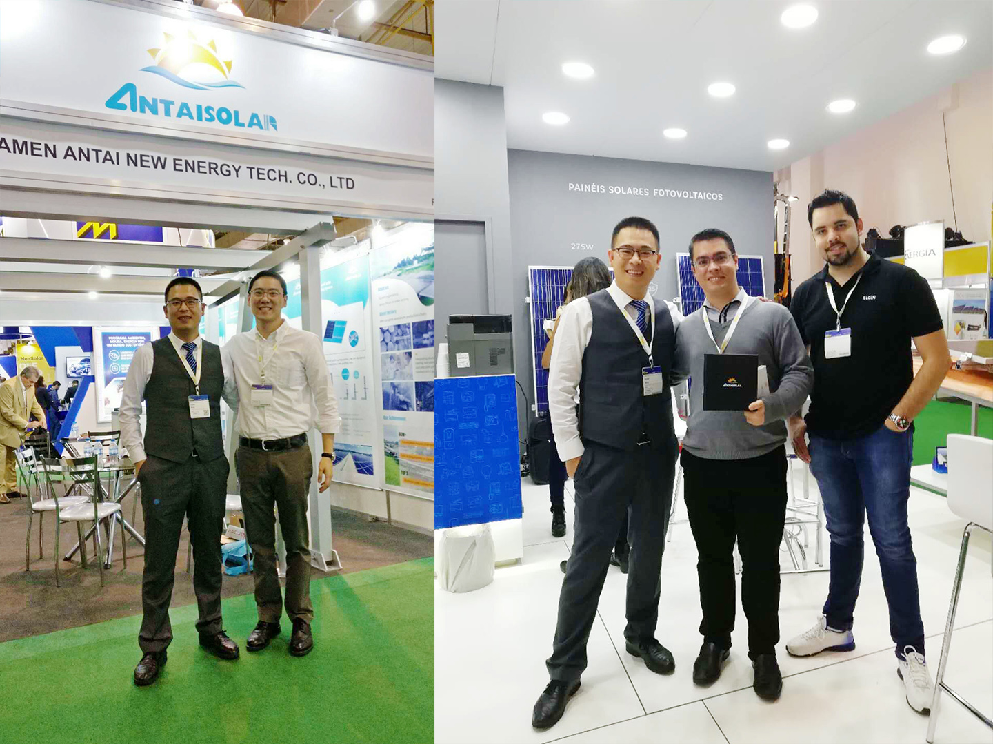 Antaisolar at the 2018 InterSolar South America International Solar Exhibition